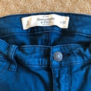 Abercrombie & Fitch Pants - Abercrombie and Fitch stretchy denim